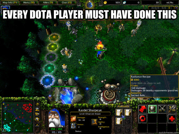 every dota player must have done this