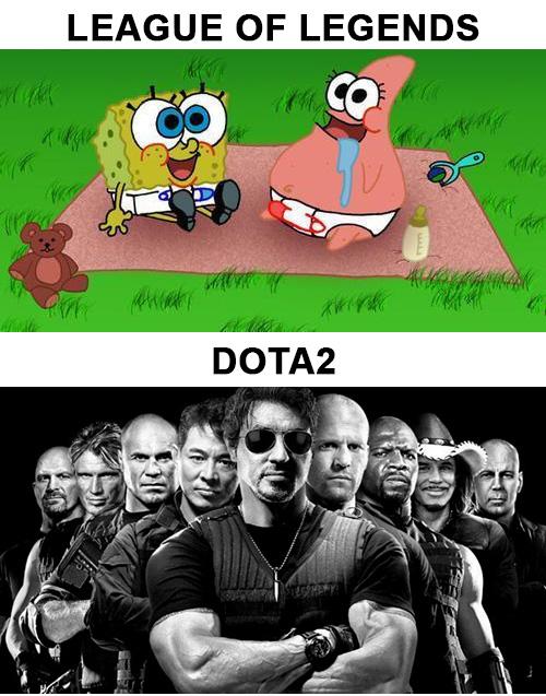 lol vs dota