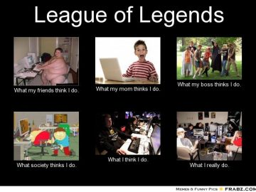 league of legends perceptions