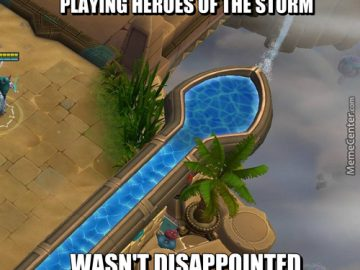 Playing heroes of the storm