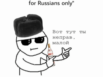 speak english csgo isn't a game for russian only