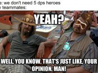 we don't need 5 dps heroes