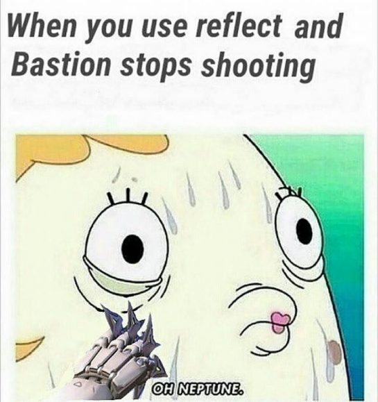 when you use reflect and Bastion stops shooting