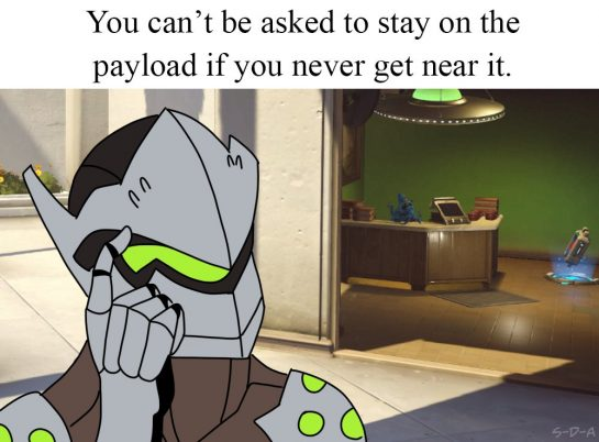 You can't be asked to stay on the payload if you never get near it