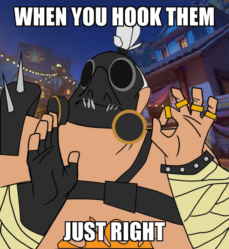 when you hook them just right