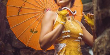 Tracer Chinese Dress Overwatch by Nica Cosplay