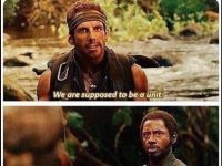 When your squad member lands in a different area of the map